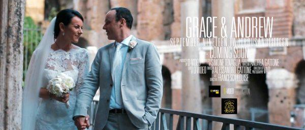Destination video wedding in Rome