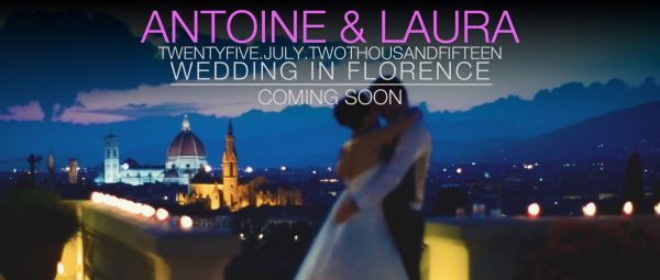 Destination wedding video in Florence