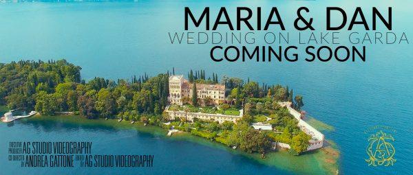 Wedding video on lake Garda