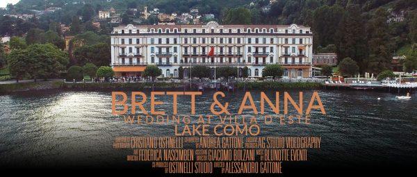Wedding video Como lake