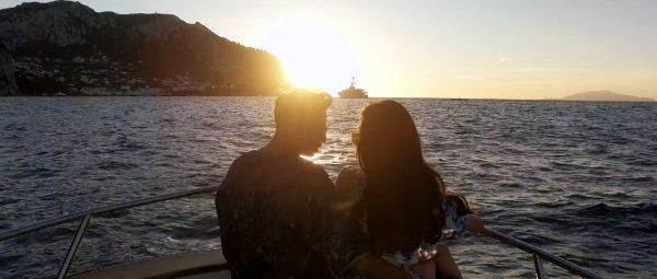 Engagement video at Capri in Amalfi coast