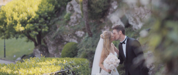 Como lake wedding videography